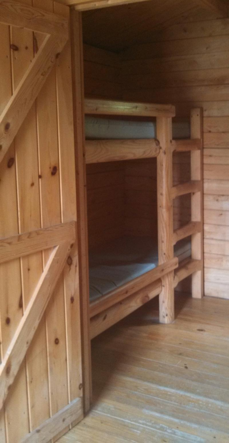 Back RM of 2 Room Cabin