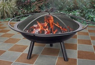 Approved fire pit